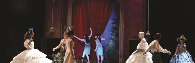 Orphée et Eurydice parla Mezzanine