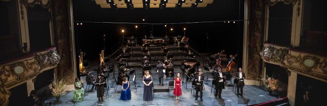 Ad Anversa in forma di concerto Ariadne auf Naxos di Richard Strauss