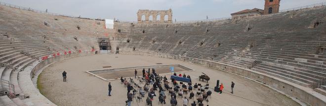 Verona, l'ottimismo della volontà: tornano le opere in Arena. Apre Aida con Muti.  Debutto del maestro Scappucci, prima volta anche di Roberto Alagna e Jonas Kaufmann.