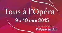 Tous à l'opéra vous invite à découvrir l'opéra les 9 et 10 mai!