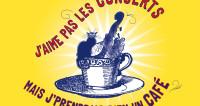 J'aime pas les concerts ! Mais j'prendrais bien un café... à Marigny