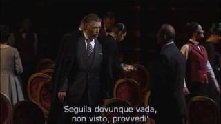 Thomas Hampson dans Tosca à l'Opéra de Zurich