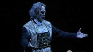 Michele Pertusi dans Nabucco au Théâtre royal de Parme