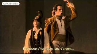 Luca Pisaroni dans Les Noces de Figaro à l'Opéra National de Paris