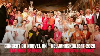 Concert du Nouvel An à la Fenice de Venise (vidéo intégrale)