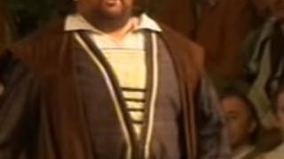 Johan Botha chante Les Maîtres chanteurs de Nuremberg de Wagner