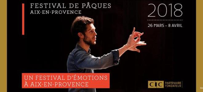 Bach et Mozart têtes d'affiche du Festival de Pâques d'Aix en Provence 2018