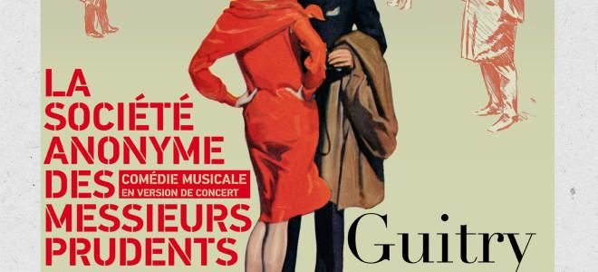 La S.A.D.M.P de Sacha Guitry sera au Grand Opéra Avignon le 27 mars