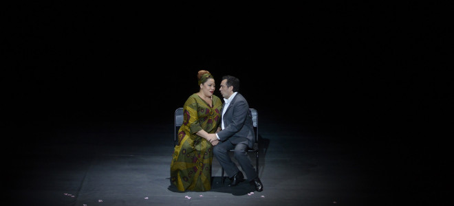 Aïda sobre épure à l'Opéra National de Lorraine