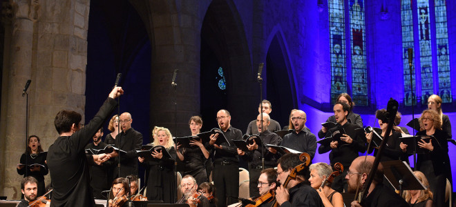 Sommet de musique sacrée pour un éclatant concert de clôture du Festival d'Ambronay