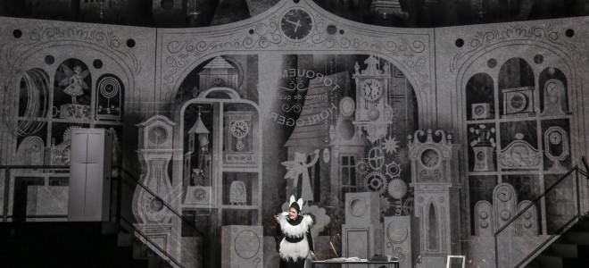 Heureuse et comique reprise de L'Heure espagnole à l'Opéra de Lyon