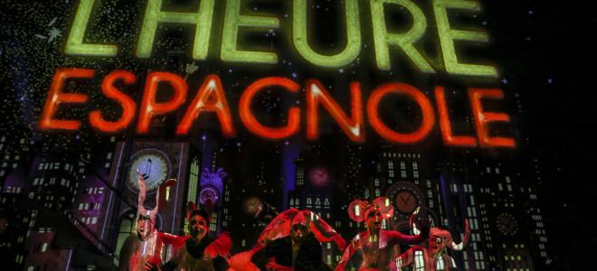 Cocasse et animale Heure espagnole à l'Opéra de Lyon