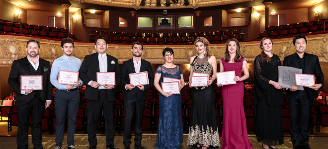 Jeunesse triomphante au Concours international de chant de Clermont-Ferrand 2019