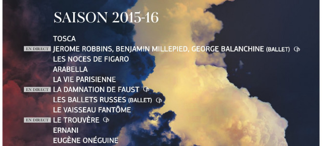 Tosca de Puccini ouvre la saison 2015/2016 de Viva l'Opéra !