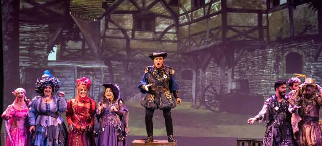Show (ré-)créatif avec Falstaff au Teatro Avenida de Buenos Aires