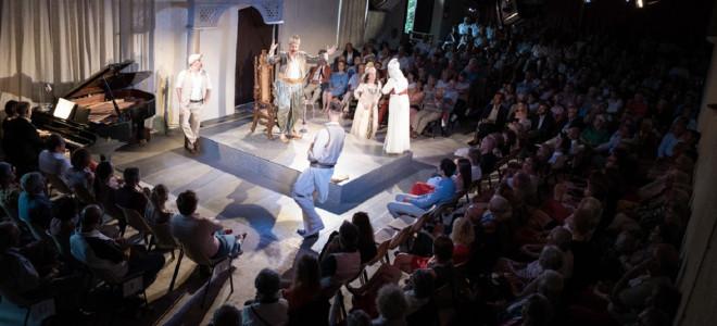 L'Italienne à Alger au Festival de la Vèzère, un vent de folie dans un royal domaine