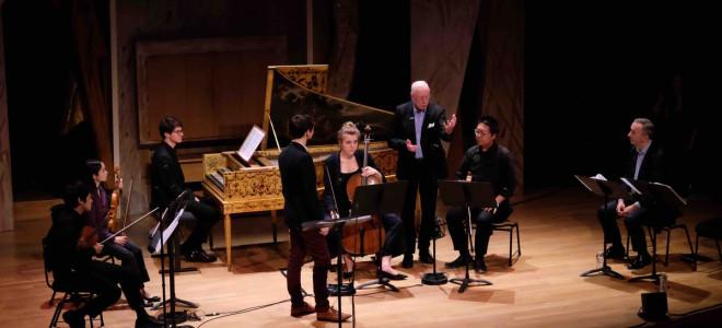 Masters-classe, William Christie & Paul Agnew pour les 40 ans des Arts Florissants à la Philharmonie de Paris