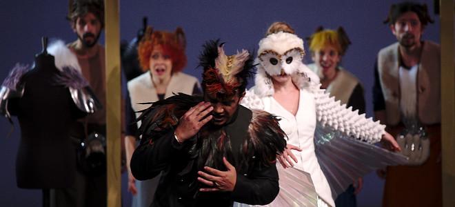 La Dame blanche revisitée en fable animalière, captée à l'Opéra de Rennes
