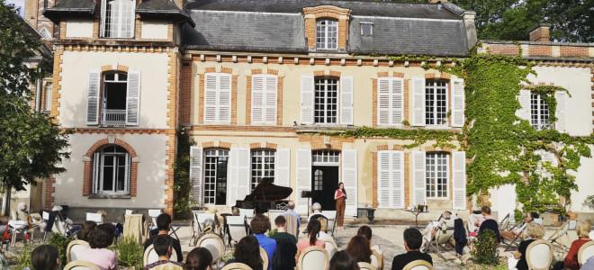 Charme et poésie au Château Rosa Bonheur avec le duo Wasserfall