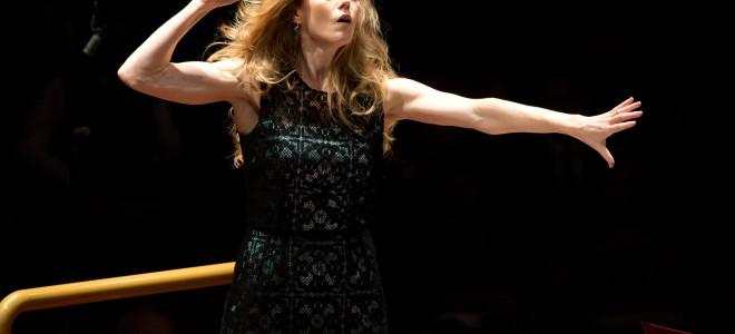 Barbara Hannigan, étoile des années 1930 à la Philharmonie