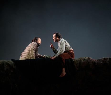 Paul Kaufmann (Nando), Nikolai Schukoff (Pedro) - Tiefland par Walter Sutcliffe