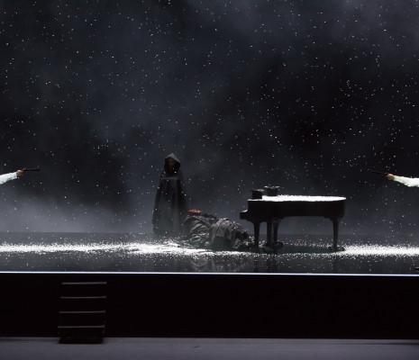 Valentyn Dytiuk et Pawel Kolodziej dans Mozart et Salieri