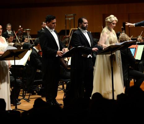 Marina Comparato, Erwin Schrott, Celso Albelo & Annick Massis