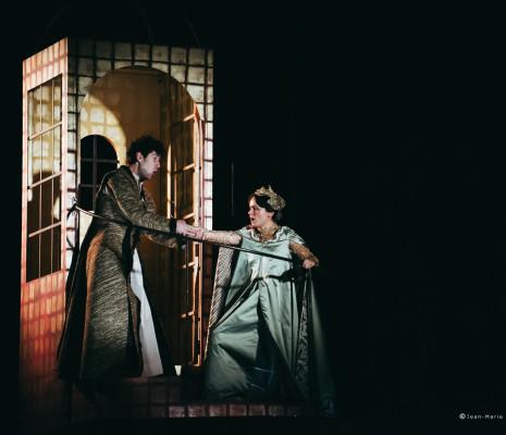 Paul-Antoine Bénos & Alicia Amo - San Giovanni Batistta par Vincent Tavernier
