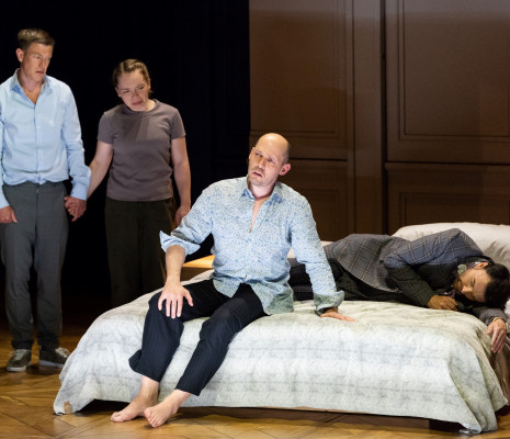 Saluel Boden, Ocean Barrington-Cook, Stéphane Degout & Gyula Orendt - Lessons in Love and Violence par Katie Mitchell