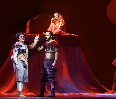 Anna Bonitatibus et Leonardo Cortellazzi - La Clémence de Titus par Cécile Roussat et Julien Lubek