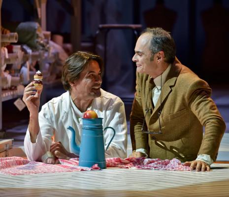 Christian Helmer et Lionel Peintre dans Madame Favart