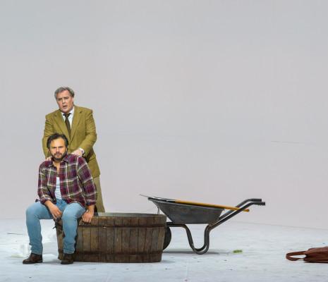 Atalla Ayan et Jean-François Lapointe dans La Traviata