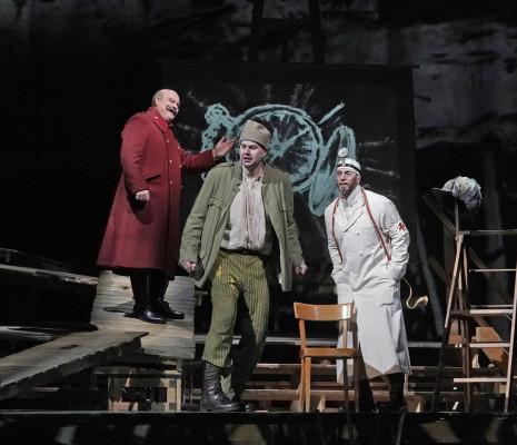 Gerhard Siegel, Peter Mattei & Christian Van Horn - Wozzeck par William Kentridge