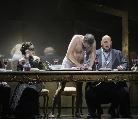 Markus Suihkonen, Tamuna Gochashvili, Tuomas Pursio, Koit Soasepp, Henri Uusitalo - Don Giovanni par Jussi Nikkilä