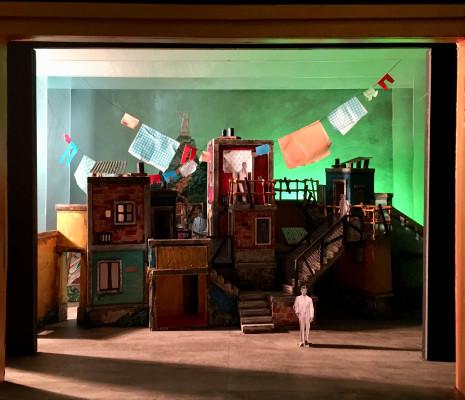 Platée par Shirley et Dino - Maquettes des décors