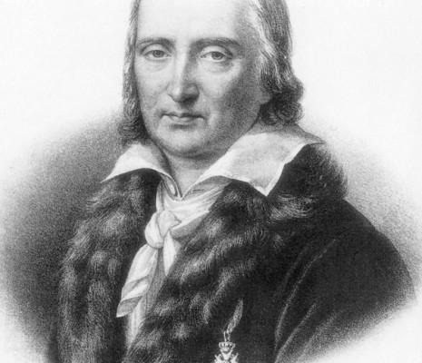 André Grétry portant sa Légion d'honneur