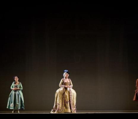 Anne-Catherine Gillet, Martina Serafin et Sophie Koch - Le Chevalier à la rose par Nicolas Joël