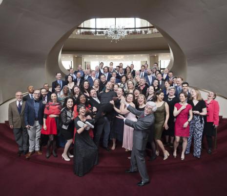 Yannick Nézet-Séguin et le Chœur du Metropolitan Opéra