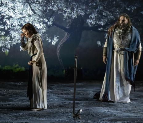Patrizia Ciofi et Jean-François Borras dans Jeanne d'Arc