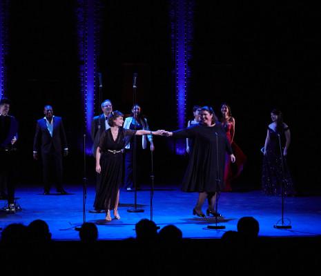 Chloé Briot et Julie Pasturaud au Concert UNiSSON