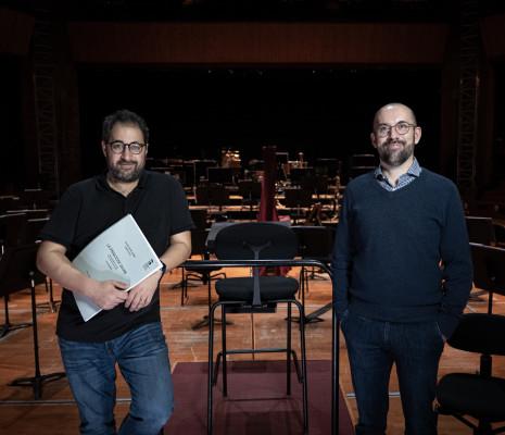 Léo Hussain et Alexandre Dratwicki enregistrent La Princesse jaune