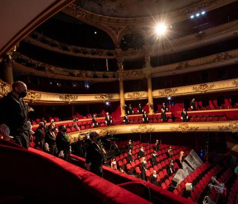 Chœur de l'Opéra Royal de Wallonie-Liège - La Traviata par Gianni Santucci