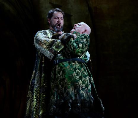 Ildar Abdrazakov & Aleksandr Kravets - Boris Godounov par Jean-Romain Vesperini