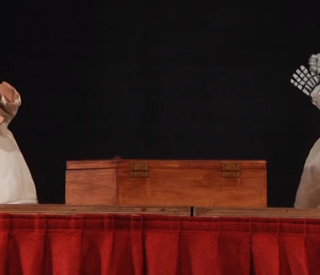 La Pulcinella en marionnette (Stravinsky)