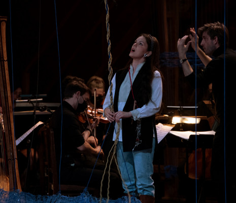 Kseniia Proshina & Léo Warynski - Le Viol de Lucrèce par Jeanne Candel