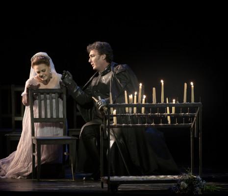 Ludovic Tézier et Maria Agresta dans Tosca