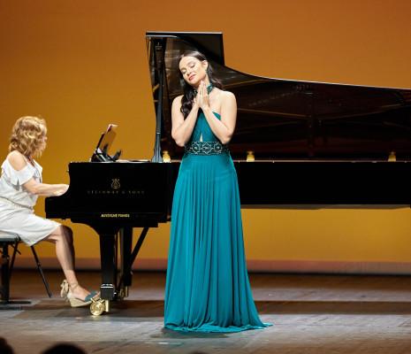 27ème édition du Concours international de chant de Clermont-Ferrand Julia MUZYCHENKO