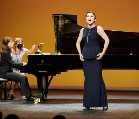 27ème édition du Concours international de chant de Clermont-Ferrand Olga SYNIAKOVA