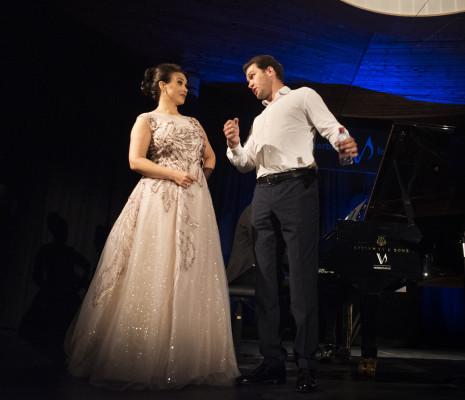 Olga Peretyatko & Grigory Shkarupa