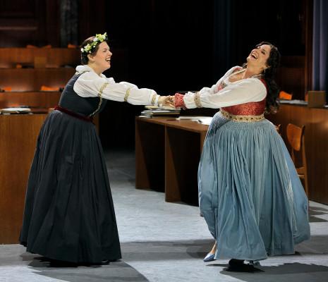 Christa Mayer & Camilla Nylund - Les Maîtres Chanteurs de Nuremberg par Barrie Kosky